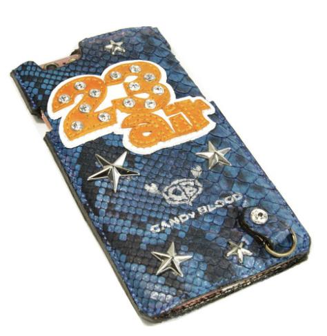 特注ショップロゴ入りiPhoneケース
